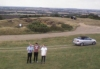 Simon, Anthony and me flying drone on Burton Dasset